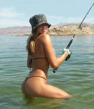 фото на рыбалке девушек