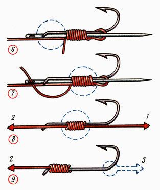 Как привязать второй крючок к леске - Рыбколов! 70