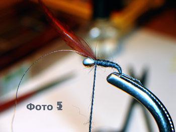 Как связать муху и мормышку?