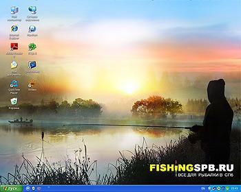 Обои для рабочего стола - Все для рыбалки в Петербурге