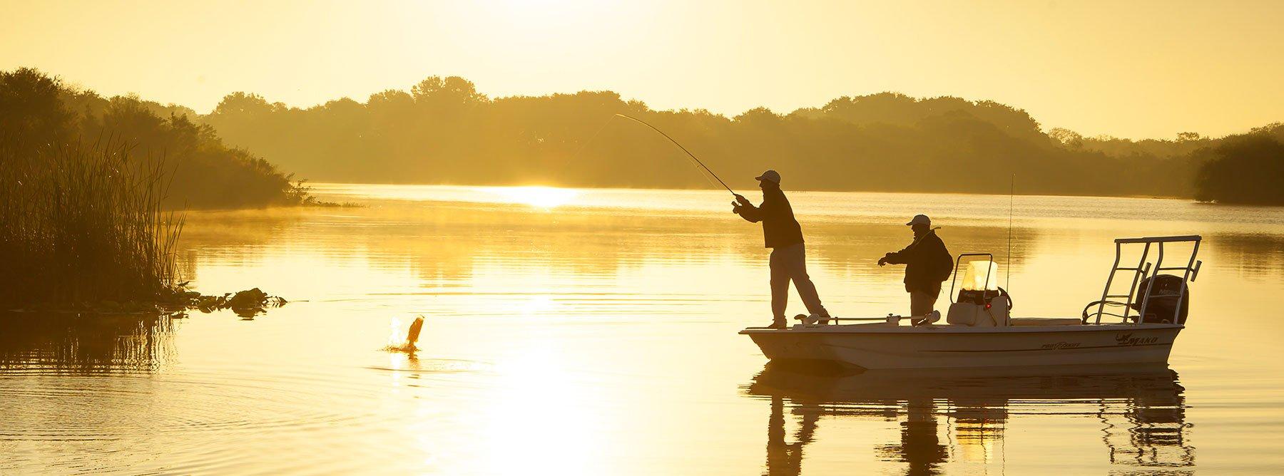 Снаряжение для рыбалки, моторы и лодки