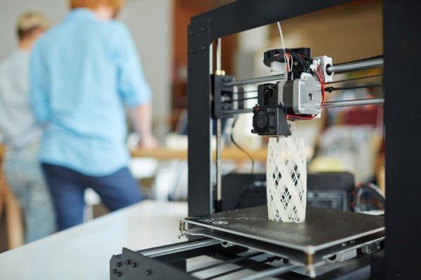 Схема работы 3D-принтера