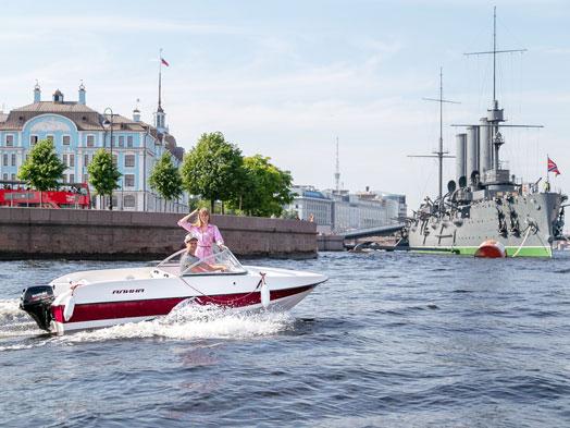Аренда яхт и катеров в Санкт-Петербурге