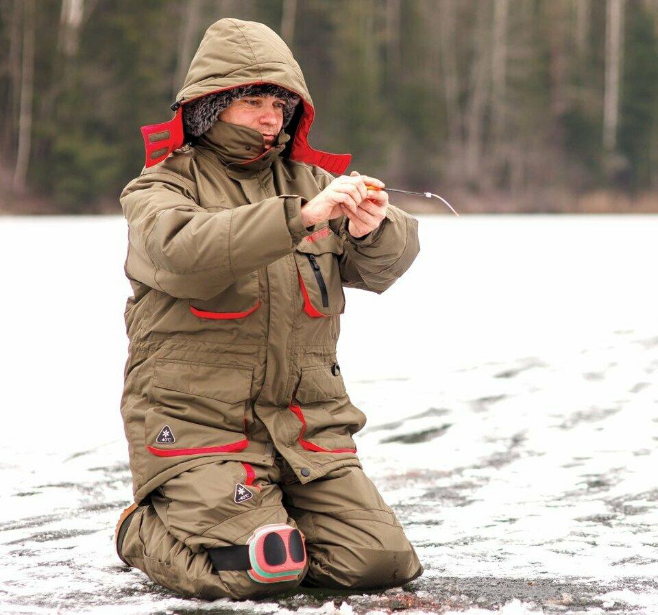Костюм для рыбалки зимой
